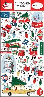 Carta Bella Merry Christmas 6x13 Chipboard Accents