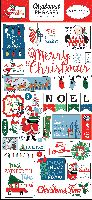 Carta Bella Merry Christmas 6x13 Chipboard Phrases