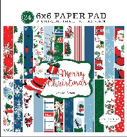 Carta Bella Merry Christmas 6x6 Paper Pad