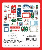 Carta Bella Merry Christmas Frames & Tags