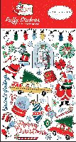 Carta Bella Merry Christmas Puffy Stickers