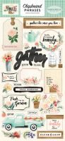 Carta Bella Flower Market 6x13 Chipboard Phrases