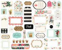 Carta Bella Flower Market Frames & Tags