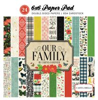 Carta Bella Our Family 6x6 Paper Pad