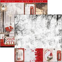 Ciao Bella Snow and the City Limited Edition Paper Pad 12