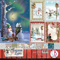 Ciao Bella Northern Lights Double-Sided Paper Pad 12