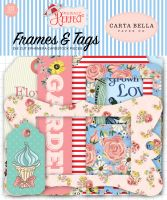 Carta Bella Practically Perfect Frames & Tags Ephemera