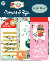 Carta Bella Pack Your Bags Frames & Tags Ephemera