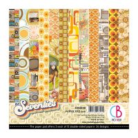 Ciao Bella The Seventies Paper Pad 6