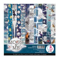 Ciao Bella Moon & Me Double-Sided Paper Pad 6