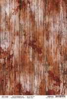 Ciao Bella Rice Paper A4 Old time wood