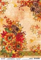 Ciao Bella Rice Paper A4 All at once summer collapsed into fall