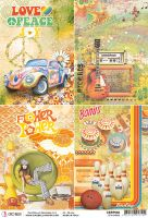Ciao Bella Rice Paper A4 70''s Cards