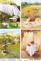 Ciao Bella Rice Paper A4 Tuscan Cards