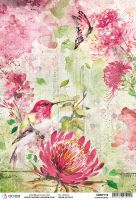 Ciao Bella Rice Paper A4 Hummingbird