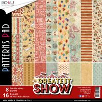 Ciao Bella The Greatest Show Patterns Pad 12