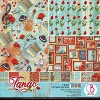 Ciao Bella Tango Patterns Pad 12