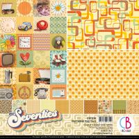 Ciao Bella The Seventies Patterns Pad 12