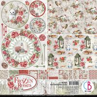 Ciao Bella Frozen Roses Patterns Pad 12