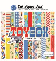Carta Bella Toy Box 6x6 Paper Pad