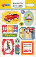Carta Bella Toy Box Layered Stickers
