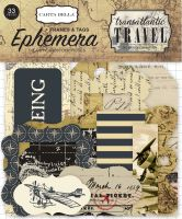 Carta Bella Transatlantic Travel Frames & Tags Ephemera