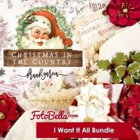 Prima Marketing Christmas in the Country I Want It ALL! Bundle