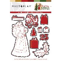 PhotoPlay Christmas Memories Dies Santa