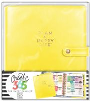 Me & My Big Ideas Create 365 The Happy Planner Deluxe Cover - Sunshine Yellow (Classic)