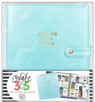 Me & My Big Ideas Create 365 The Happy Planner Deluxe Cover - Limpet Blue (Big)