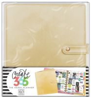 Me & My Big Ideas Create 365 The Happy Planner Deluxe Cover - Gold (Big)
