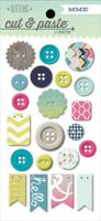My Minds Eye Cut & Paste - Adorbs - Loved Decorative Buttons
