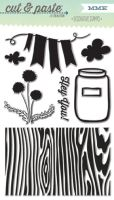 My Minds Eye Cut & Paste - Charm - Hey You Decorative Stamps