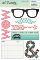 My Minds Eye Cut & Paste - Flair - Today Decorative Stickers