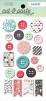 My Minds Eye Cut & Paste - Flair - Snapshots Decorative Buttons