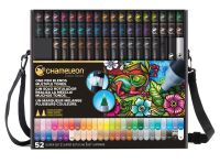 Chameleon 52 Pen Super Set - Color Tone Alcohol Ink Pens