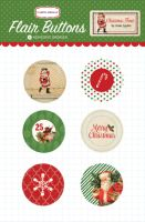 Carta Bella Christmas Time Flair Buttons