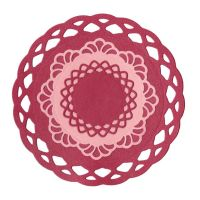 Lifestyle Crafts Nesting Lace Doilies