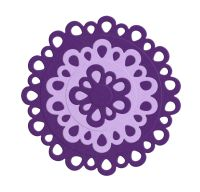 Lifestyle Crafts Nesting Circle Doilies - QuicKutz Cookie Cutter Dies