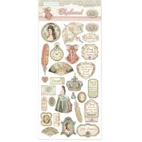 Stamperia Chipboard - Princess (cm. 15x30)
