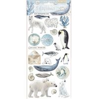 Stamperia Chipboard - Arctic Antarctic (cm. 15x30)