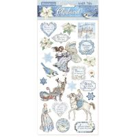 Stamperia Chipboard  - Winter Tales (cm. 15x30)