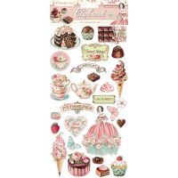 Stamperia Chipboard - Sweety  (cm. 15x30)