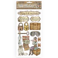 Stamperia Chipboard cm 15x30 - Lady Vagabond