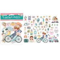 Stamperia Die cuts assorted  - Aires de Libertad