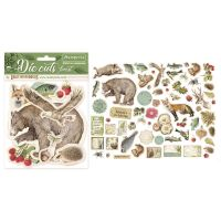 Stamperia Die cuts assorted - Forest