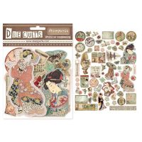 Stamperia Die cuts assorted - Oriental Garden