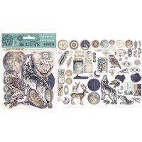 Stamperia Die cuts assorted - Cosmos