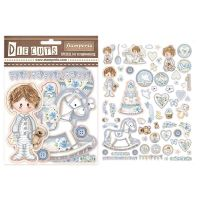 Stamperia Die cuts assorted - Little Boy