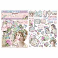 Stamperia Die cuts assorted - Hortensia